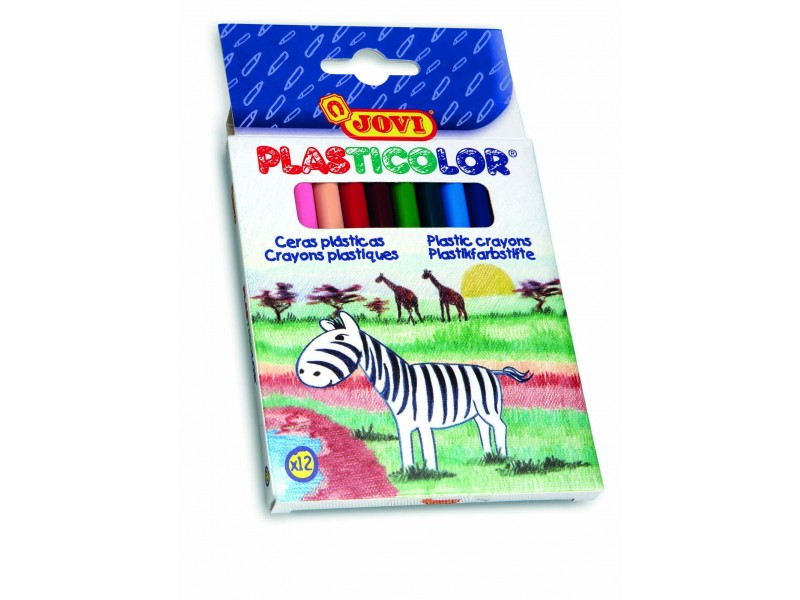 Creioane cerate 12 culori/set Jovi