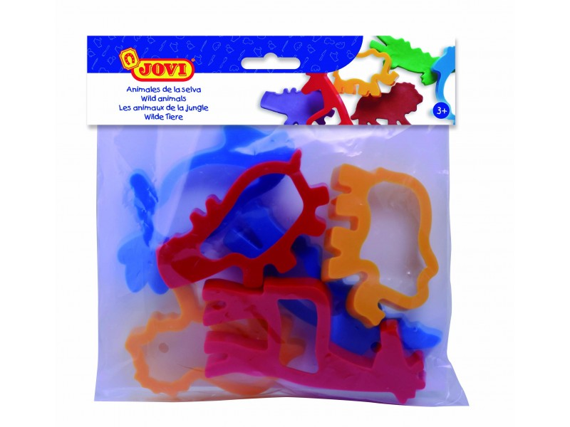 Forme modelaj animale 6 buc/blister Jovi