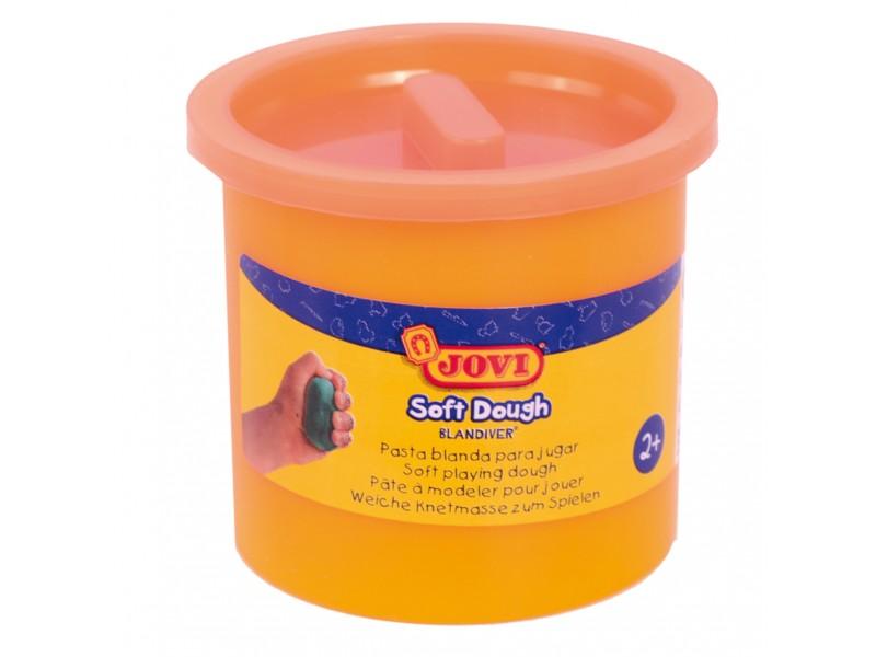 Plastilina Soft portocalie neon 110g Jovi
