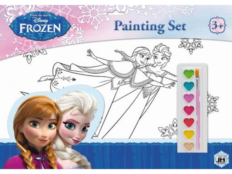 Set coloriaj A3 Frozen