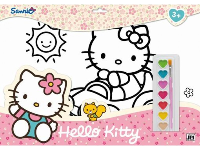 Set coloriaj A3 Hello Kitty