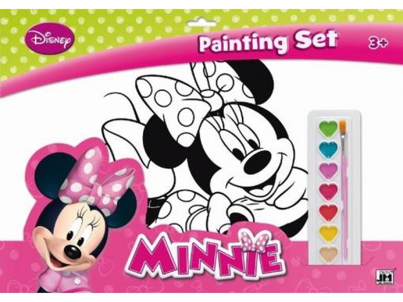 Set coloriaj A3 Minnie
