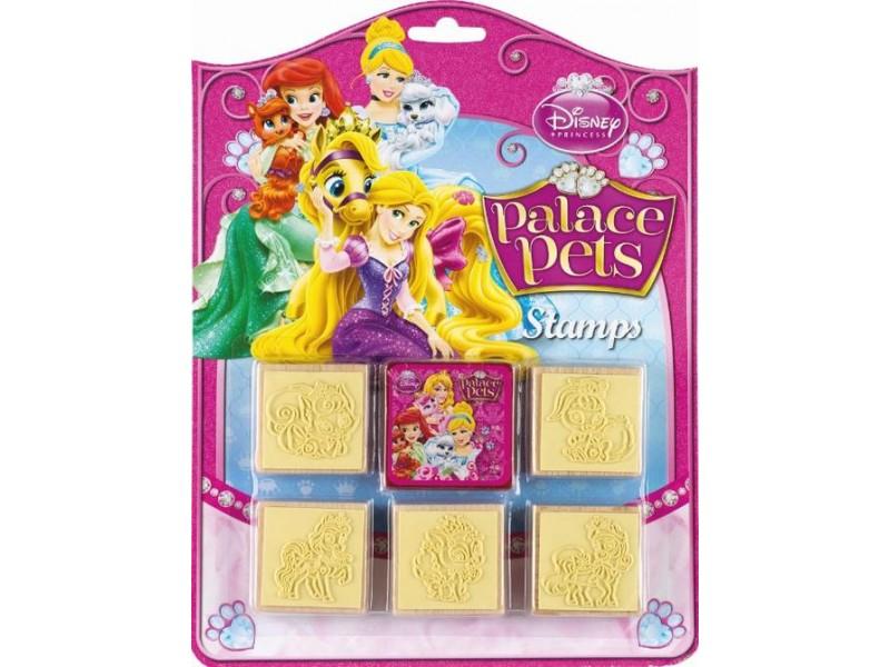 Set creativ 5 stampile lemn Palace Pets