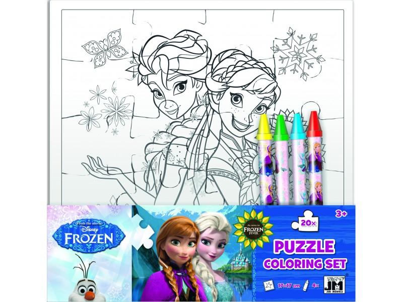 Set creativ puzzle Frozen