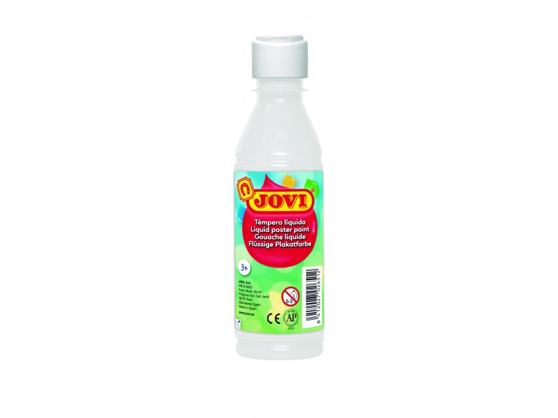 Tempera lichida alba 250 ml/sticla Jovi