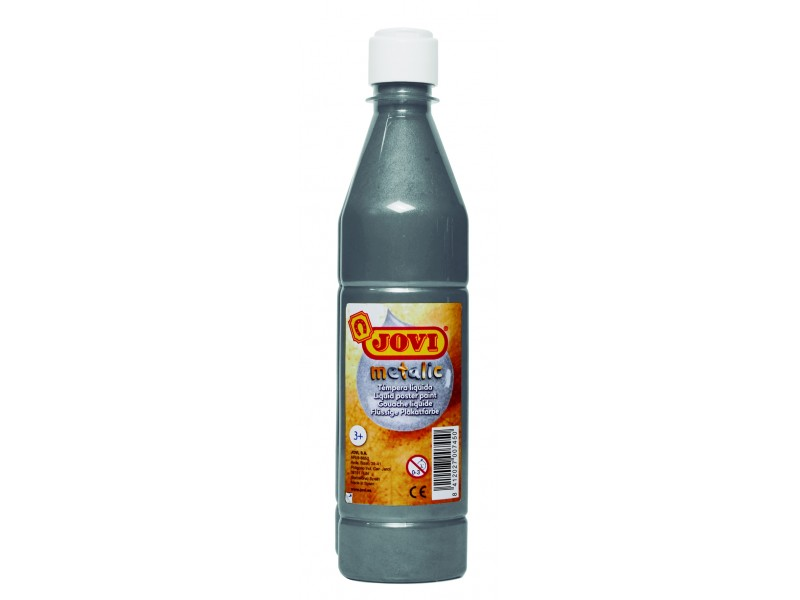 Tempera lichida argintiu 500 ml/sticla Jovi