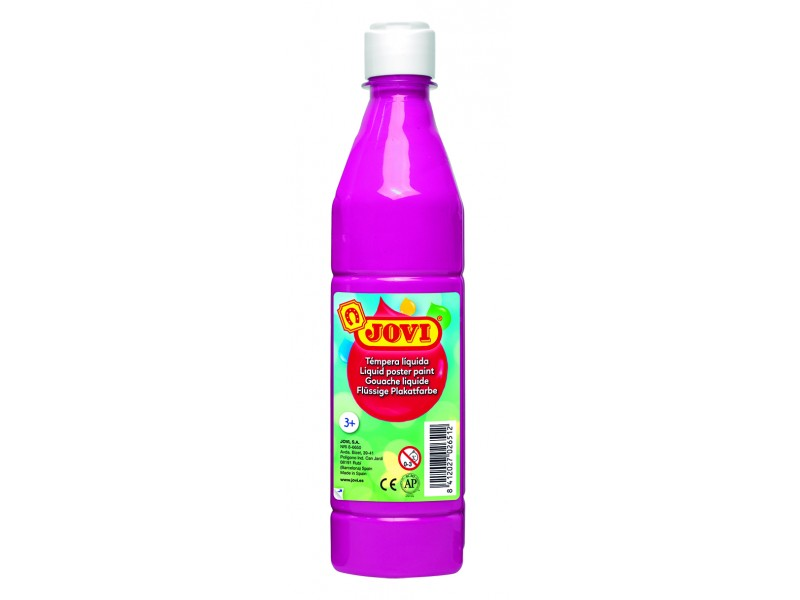Tempera lichida fuchsia 500 ml/sticla Jovi