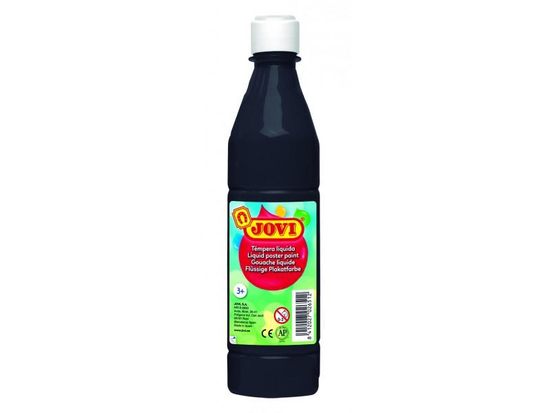 Tempera lichida negru 500 ml/sticla Jovi