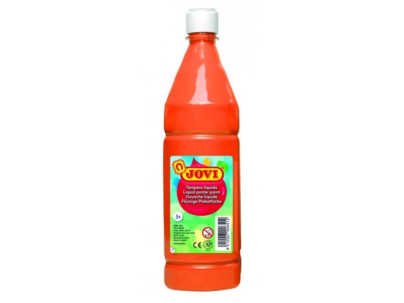 Tempera lichida portocalie 1000 ml/sticla Jovi