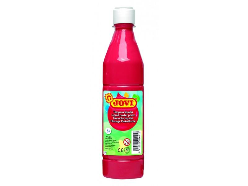 Tempera lichida rosu 500 ml/sticla Jovi