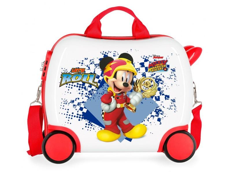 Valiza calatorie ABS 41 cm 4 roti Mickey Joy
