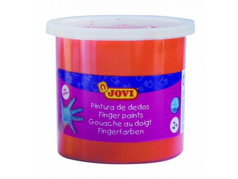 Vopsea pentru pictat cu degetele portocalie Jovi